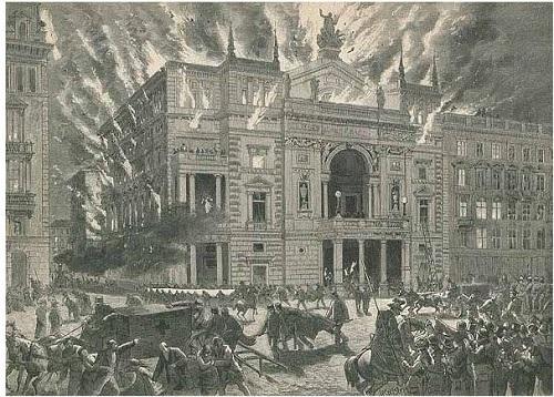 Brand des Ringtheaters am 8. Dezember 1881, Quelle: wien.gv